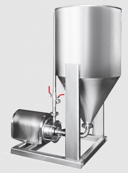 Диспергатор-гомогенизатор РПА 0.5 - 25 смешивающий насос.