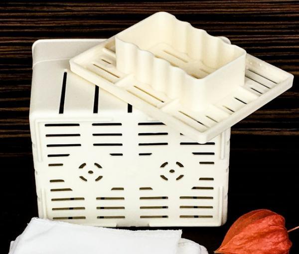 Форма до 400 г для прямоугольных сыров типа Фета, Тофу