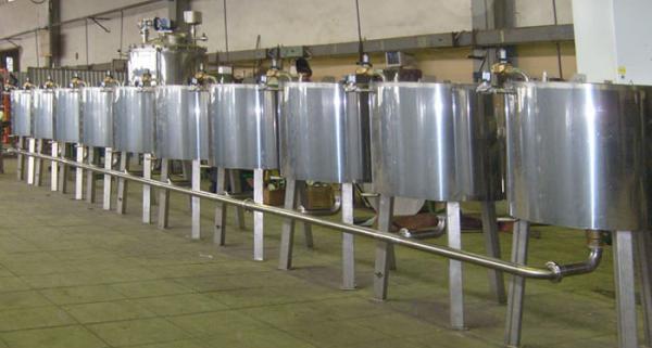 Линии для переработки молока от 100 л до 20 000 л