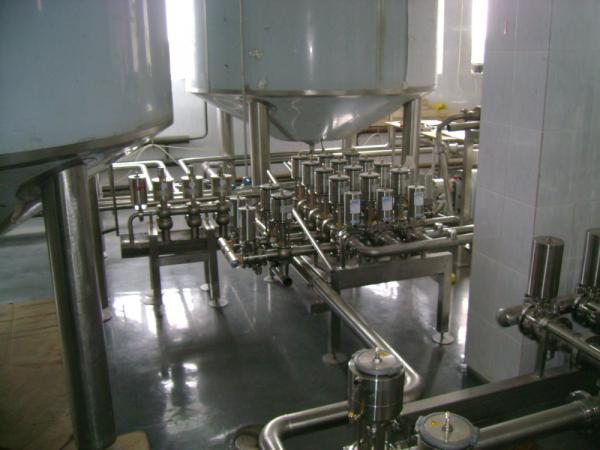 Линия приемки, фильтрации и охлаждения молока