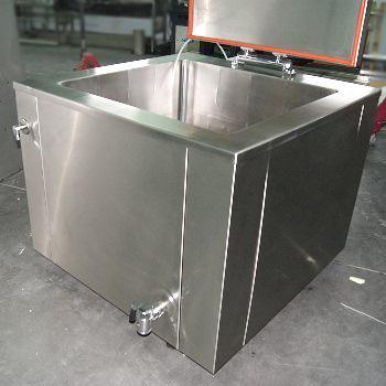 Линия производства сыров и творога, Творожные и сырные ванны, Ванны калье