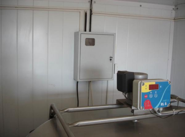 Модульный пункт приёма молока 1100