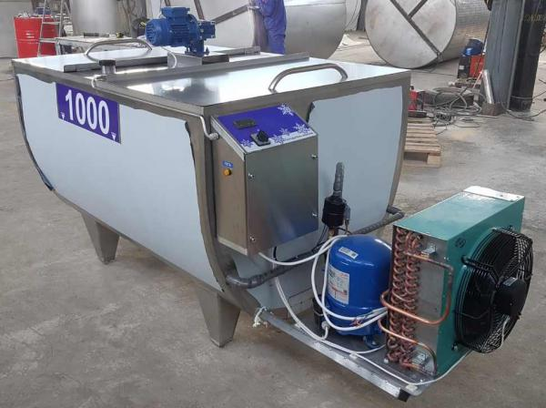 Охладитель молока открытого типа