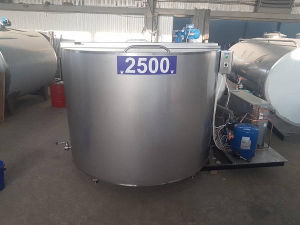 """Охладитель молока - открытого типа (""""шайба"""") 200-3000л"""