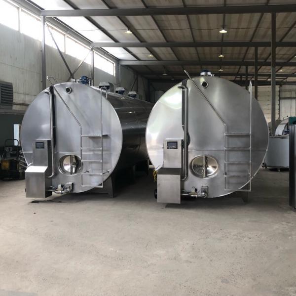 Охладитель молока - закрытого типа 4000 л