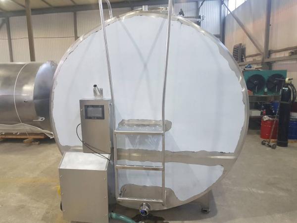 Танк - охладитель молока - закрытого типа V-14000 л