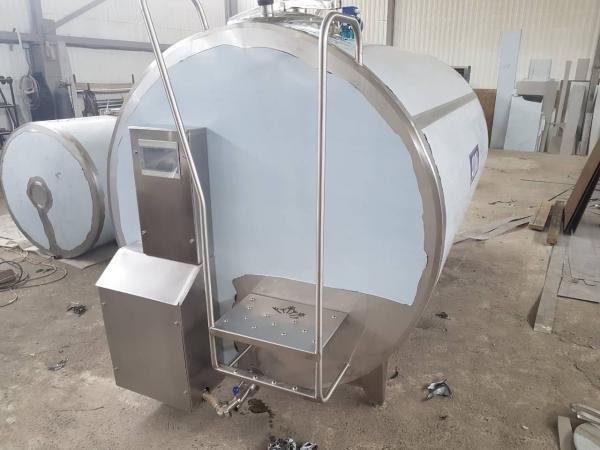 Танк - охладитель молока - закрытого типа V-4000 л