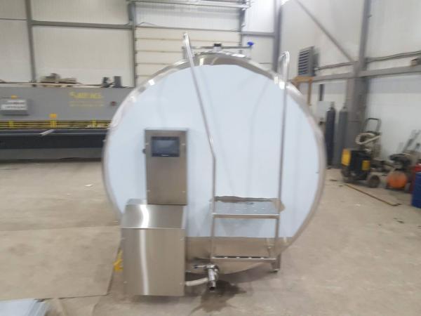 Танк - охладитель молока - закрытого типа V-5000 л