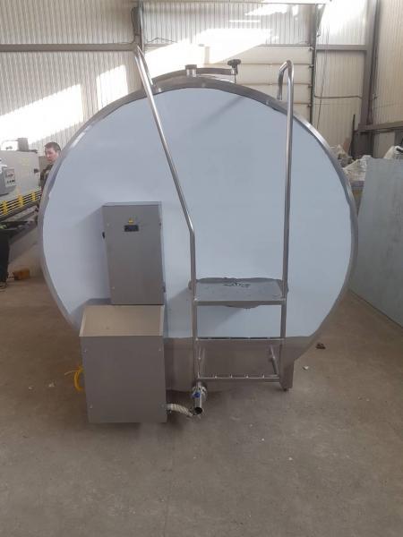 Танк - охладитель молока - закрытого типа V-8000 л