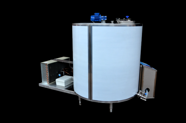 Танки Охладители молока - закрытого типа вертикальные( ОМЗТ ) молочные танки BEST MILK 200 л