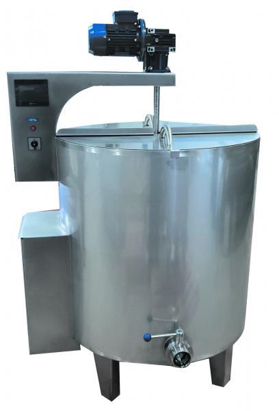 Ванна длительной пастеризации ВДП, V-1000 л
