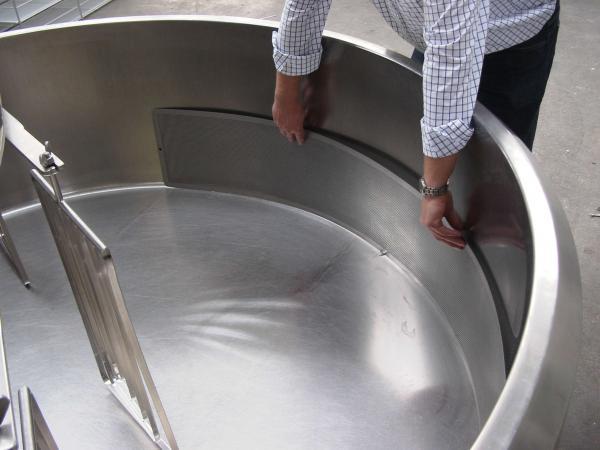 Ванна сыродельная - открытого типа