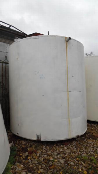 Ёмкость нержавеющая,объем — 6 куб.м., вертикальная, плоское дно - с мешалкой