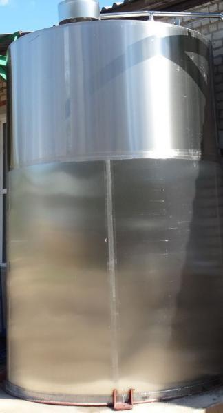 Емкость вертикальная - для хранения молока и молочных продуктов ОМВ-30