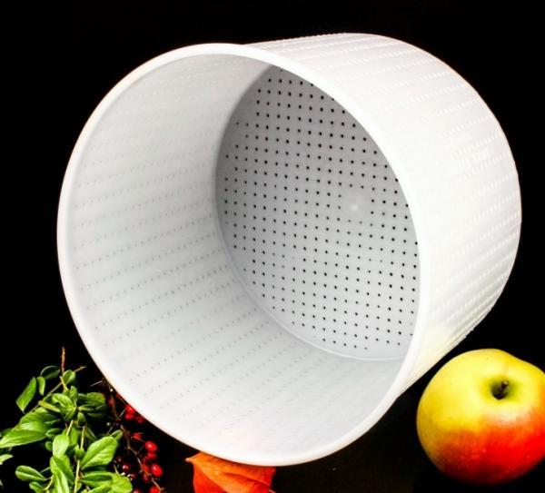 Форма для мягких сыров - на 3200 г, цилиндрическая, Anelli Lodi