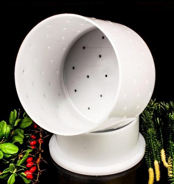 Форма для сыра 0,8 л - с крышкой-поршнем, Franz Janschitz