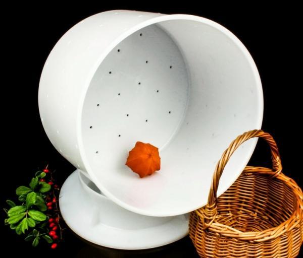 Форма для сыра до 3200 г - с крышкой-поршнем, Franz Janschitz