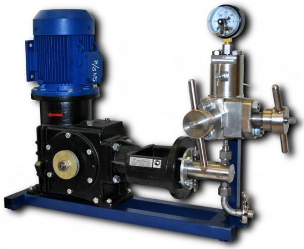 Гомогенизатор - высоконапорный клапанный серии НГД-ВК
