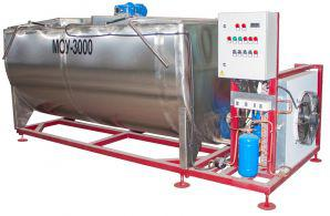 Горизонтальный охладитель молока - открытого типа