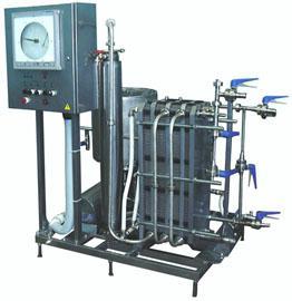 Комплект оборудования - для пастеризации молока МПКС-013-1000