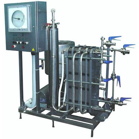 Комплект оборудования - для пастеризации молока, сливок, соков 013-1000