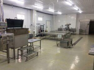 Комплект оборудования - для производства имитационных сыров, до 600 кгчас