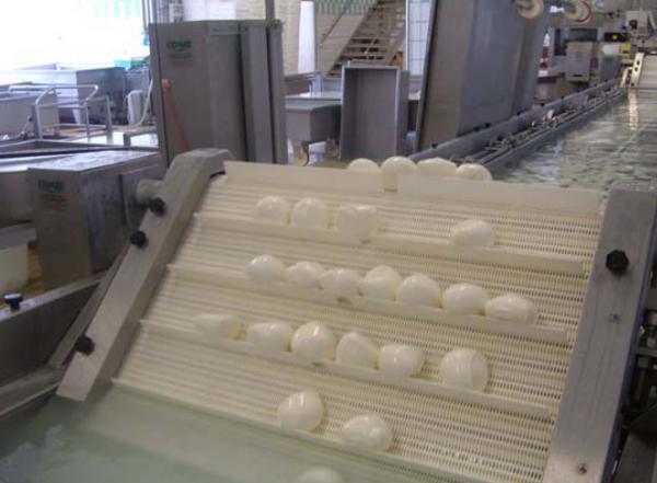 Линия для охлаждения и уплотнения сыров