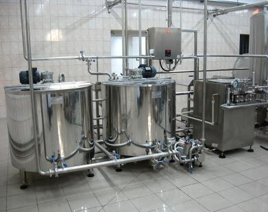 Линия производства кисломолочных напитков