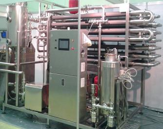 Линия производства питьевого стерилизованного молока и сливок