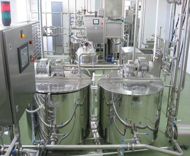 Линия производства термизированной сметаны
