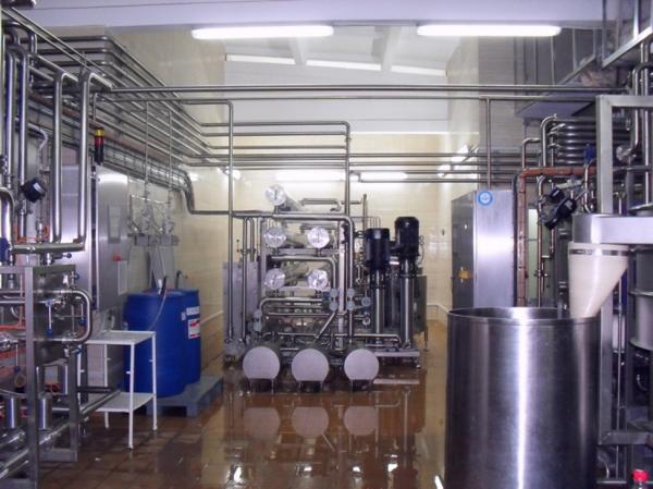 Мембранная установка - для молока, сыворотки