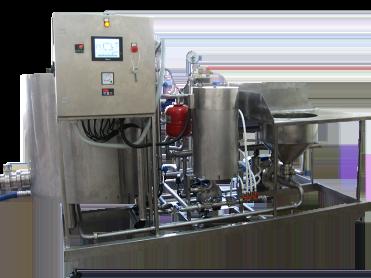Мини-комплекс для переработки молока