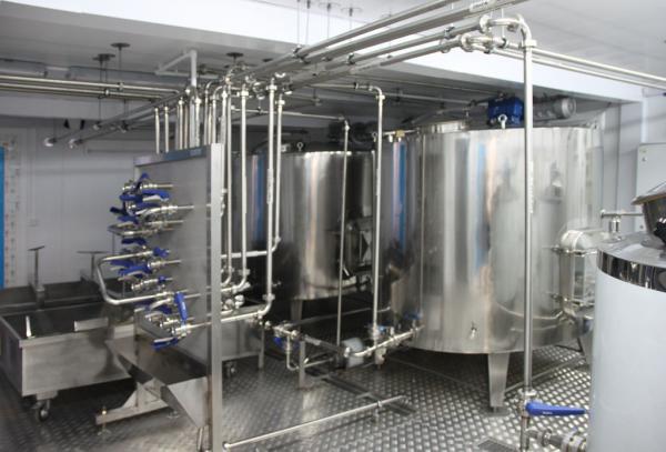 Модульный молочный мини завод Колакс