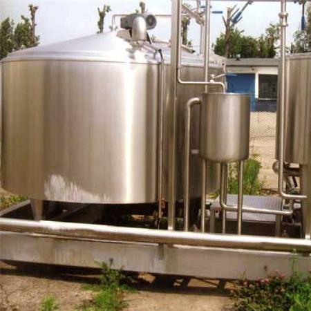 Молочный цех переработки молока - производительностью 1000 литров в час