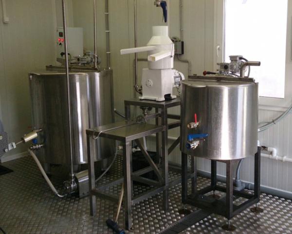 Молочный завод 3 тонны в смену