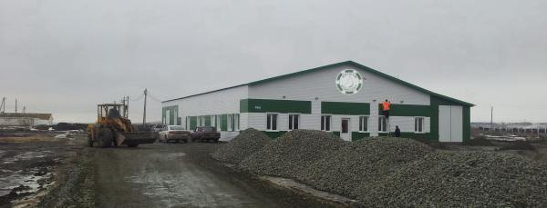 Молочный завод, - производительность 10000 кг/сутки