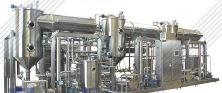 Низкотемпературный вакуумный концентратор - для сгущения сыворотки, молока