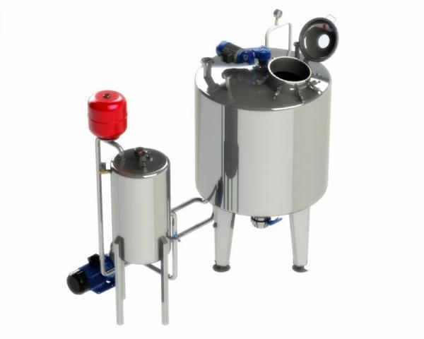Оборудование для - производства сгущенного молока (Вакуум-выпарная установка ВВУ)