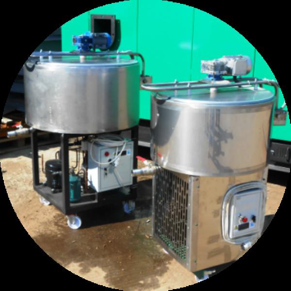 Охладитель молока M1-100