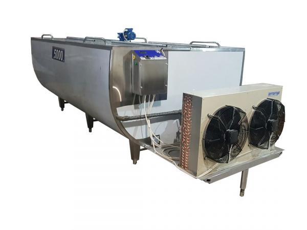 Охладитель молока - открытого типа 5000