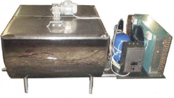Охладитель молока - открытого типа 700