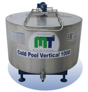 Охладитель молока - открытого типа Cold Pool Vertical