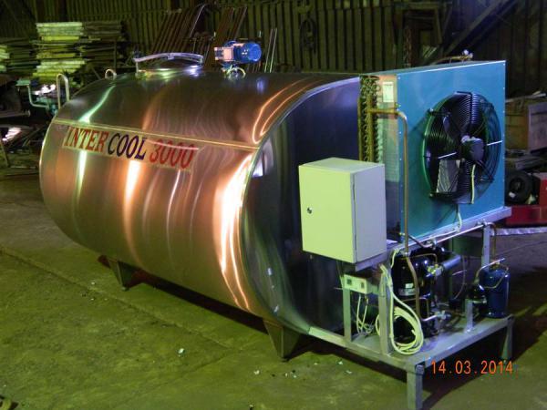 Охладитель молока с автоматической мойкой - на 4000 л