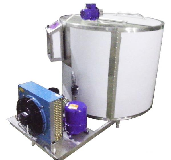 Охладитель молока - вертикального типа (ОМВТ) шайба