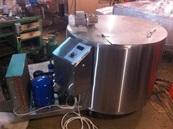 Охладитель молока - вертикального типа Шайба - 200