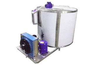Охладитель молока - вертикального типа