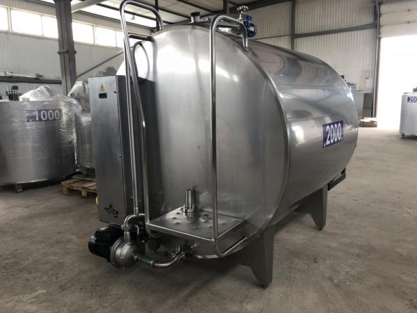 Охладитель молока - закрытого типа 1000л