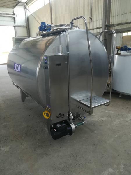 Охладитель молока - закрытого типа 2000 л