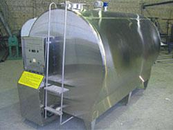 Охладитель молока - закрытого типа 6000 л