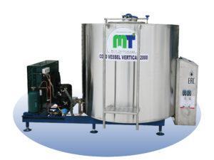 Охладитель молока - закрытого типа Cold Vessel Vertical